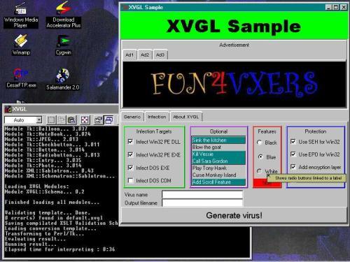 Script Virus Generator --- VBS Worm Generator